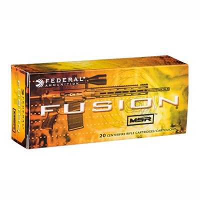 Federal Fusion Msr Ammo 300 Aac Blackout 150gr Soft Point - 300 Aac Blackout 150gr Sp 200/Case