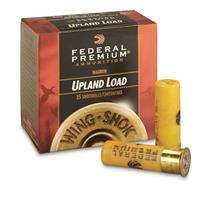 "Federal Premium, Wing-Shok, 20 Gauge, 2 3/4"", 1 1/8 oz. Shotshells, 25 Rounds"