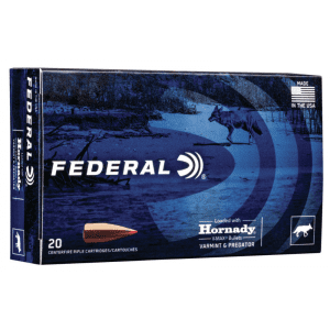 Federal Varmint & Predator Rifle Ammuntion .223 Rem 53 gr V-MAX 3400 fps 20/ct