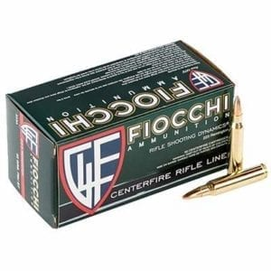 Fiocchi Ammunition 223 Remington Ammo - 223 Remington 55gr Full Metal Jacket 1000/Case