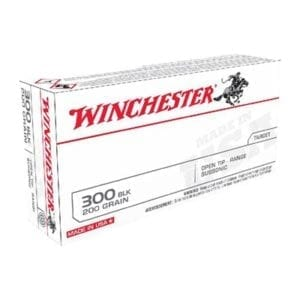 Winchester Usa White Box 300 Blackout Ammo - 300 Aac Blackout 200gr Subsonic Full Metal Jacket 20/Box