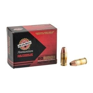 Black Hills Ammunition 9mm Luger +p 115gr Jacketed Hollow Point Ammo - 9mm Luger +p 115gr Jhp 500/Case