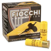 "Fiocchi, Golden Pheasant, 20 Gauge, 2 3/4"" Shells, 1 oz., Nickel Plated, 25 Rounds"