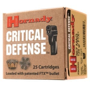 Hornady Critical Defense FTX Handgun Ammo, 9mm Luger
