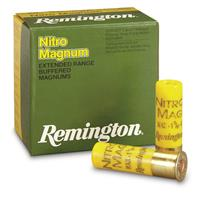 "Remington Nitro Mag, 20 Gauge, 2 3/4"", 1 1/8 oz., Lead Shot Shells, 25 Rounds"